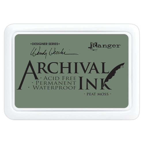 Ranger Wendy Vecchi Archival PEAT MOSS Ink Pad aid61250 Preview Image