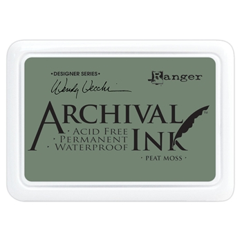 Ranger Wendy Vecchi Archival PEAT MOSS Ink Pad aid61250