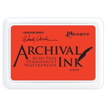Ranger Wendy Vecchi Archival POPPY Ink Pad aid61267