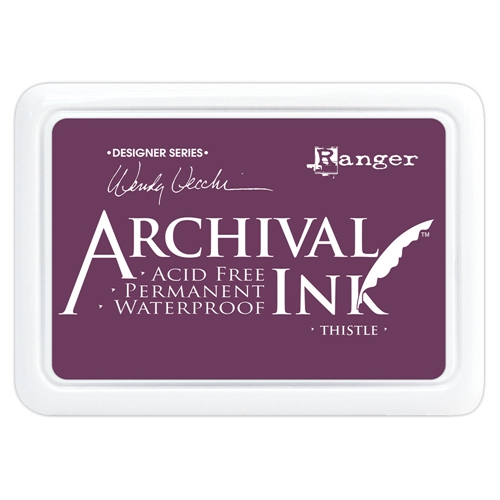 Ranger Wendy Vecchi Archival THISTLE Ink Pad aid61281 * Preview Image