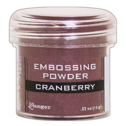 Ranger Embossing Powder CRANBERRY METALLIC epj60352 Preview Image