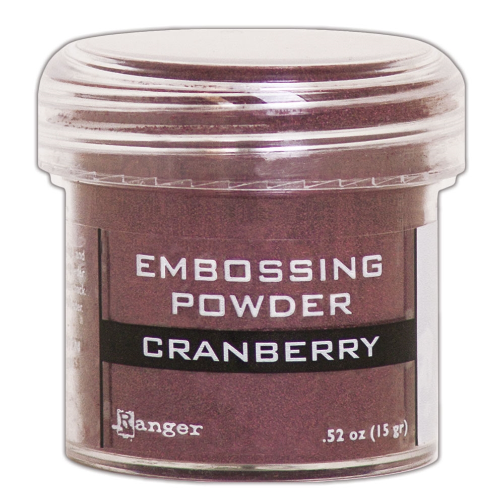 Ranger Embossing Powder CRANBERRY METALLIC epj60352 zoom image