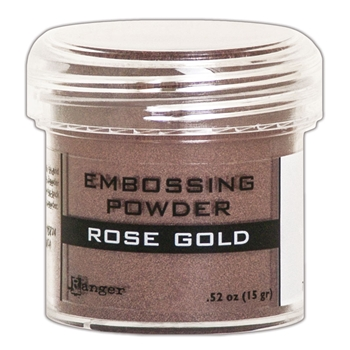 Ranger Embossing Powder ROSE GOLD METALLIC epj60390