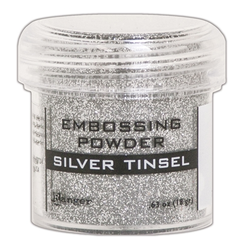 Ranger Embossing Powder SILVER TINSEL epj60437 Preview Image