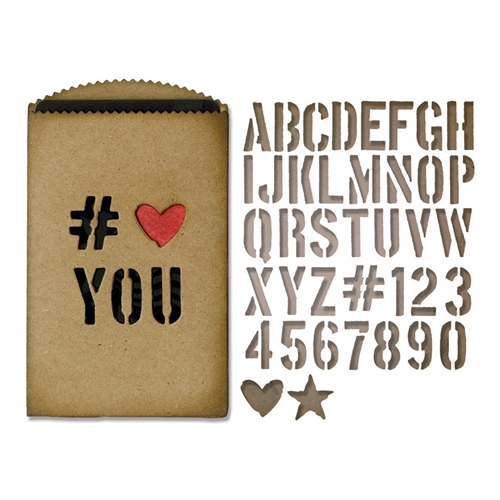 Tim Holtz Sizzix GIFT CARD BAG Thinlits Die 662687 Preview Image