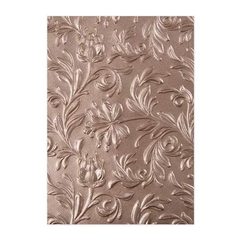 Tim Holtz Sizzix BOTANICAL 3D Texture Fades Embossing Folder 662716 Preview Image