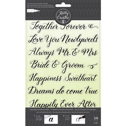 Kelly Creates TRACEABLE WEDDING Clear Stamps 346398 Preview Image