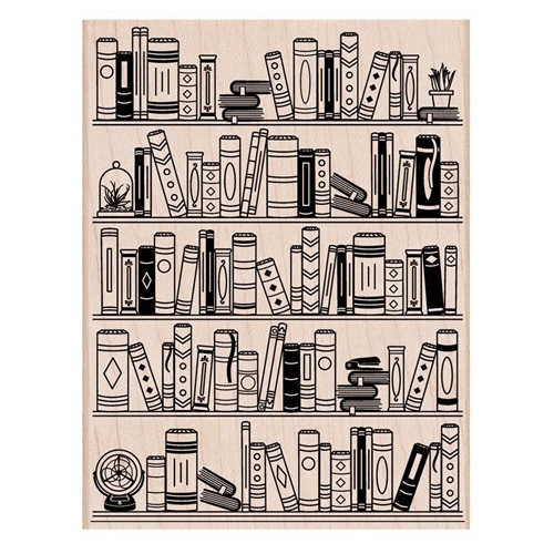 Hero Arts Rubber Stamp BOOKCASE S6274 Preview Image