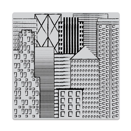 Hero Arts Cling Stamp ABSTRACT SKYLINE Bold Prints CG730 Preview Image