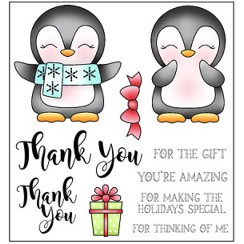 Darcie's THANK YOU Clear Stamp Set pol375 Preview Image