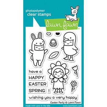 Lawn Fawn EASTER PARTY Clear Stamps LF1589*