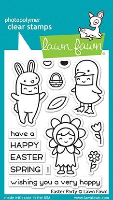 Lawn Fawn EASTER PARTY Clear Stamps LF1589 zoom image