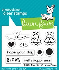 Lawn Fawn LITTLE FIREFLIES Clear Stamps LF1593 zoom image