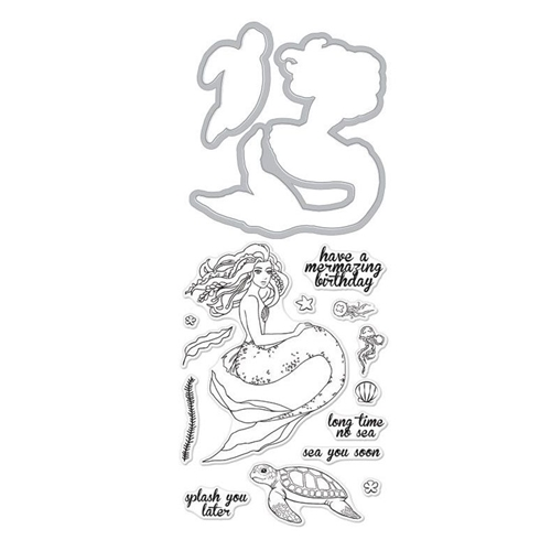 Hero Arts Stamp and Cuts MERMAID Set DC226 Preview Image