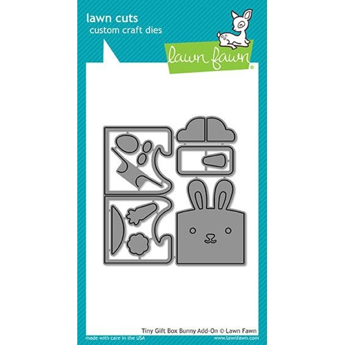 Lawn Fawn TINY GIFT BOX BUNNY ADD-ON Lawn Cuts LF1610 Preview Image