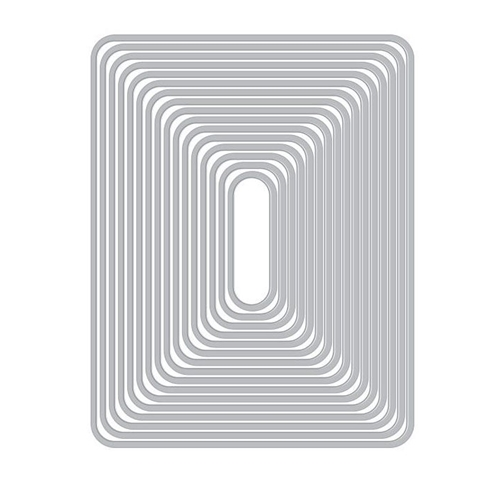 Hero Arts Nesting ROUNDED RECTANGLES Infinity Dies DI465 Preview Image