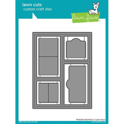 Lawn Fawn PEEKABOO BACKDROP Lawn Cuts LF1626 Preview Image