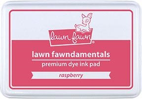 Lawn Fawn RASPBERRY Premium Dye Ink Pad LF1659 Preview Image