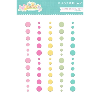 PhotoPlay EASTER BLESSINGS Matte Enamel Dots eb8796