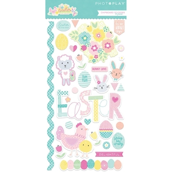 PhotoPlay EASTER BLESSINGS Chipboard Shapes eb8795