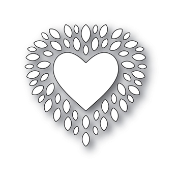 Simon Says Stamp CUPIDS HEART Wafer Dies s531 Love *