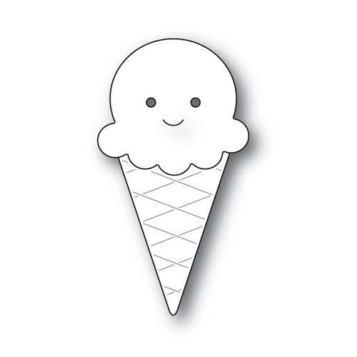 Simon Says Stamp PICTURE BOOK ICE CREAM CONE Wafer Dies s537 Love * Preview Image