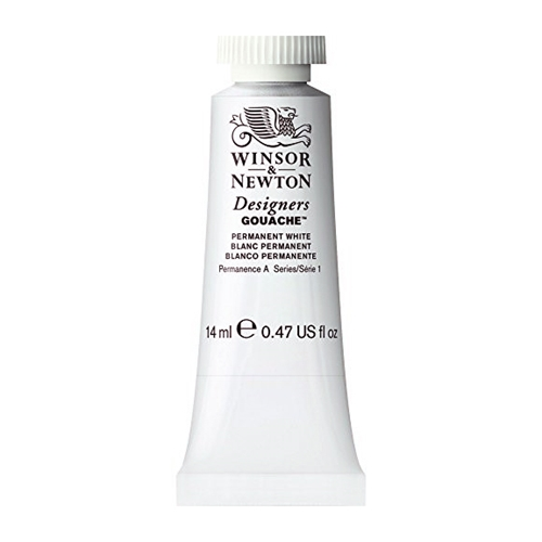 Winsor Newton PERMANENT WHITE 14ml GOUACHE 0605512 Preview Image