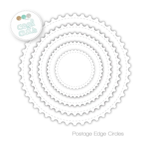 Create A Smile POST EDGE CIRCLES Cool Cuts Die dcs16* Preview Image