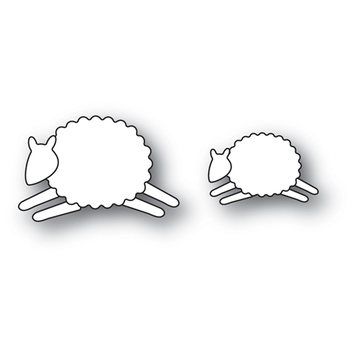 Memory Box LEAPING SHEEP Craft Die 99903 Preview Image