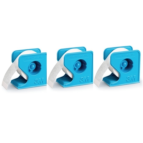 3M Micropore SET OF THREE 0.5 INCH PAPER TAPE WITH DISPENSER 3MMICRO3 Preview Image