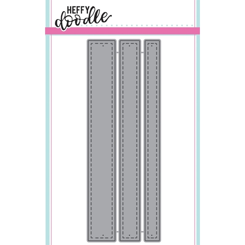 Heffy Doodle STITCHED STRIPS OF EASE Dies hfd0041 Preview Image