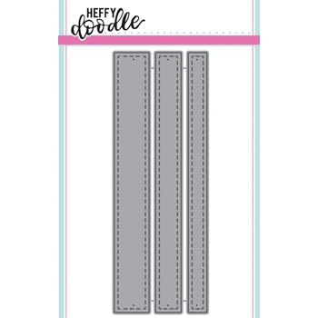 Heffy Doodle STITCHED STRIPS OF EASE Dies hfd0041