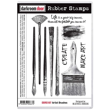Darkroom Door Cling Stamp ARTIST BRUSHES ddrs187