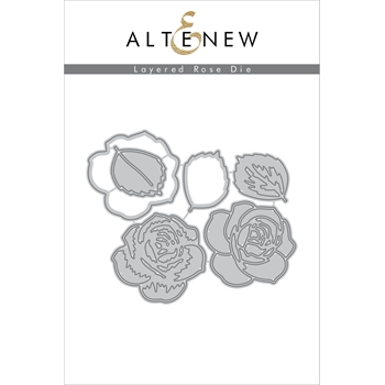 Altenew LAYERED ROSE Die Set ALT1787