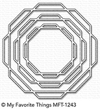 My Favorite Things LINKED OCTAGON FRAMES Die-Namics MFT1243 Preview Image