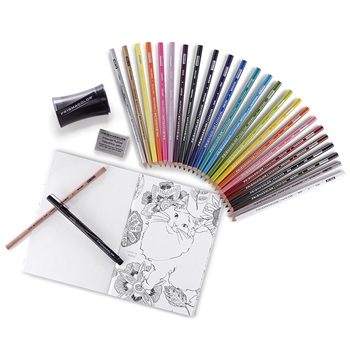 Prismacolor 24 Pencils COLORING KIT 1978739