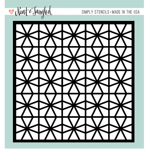 Neat and Tangled GEOMETRIC CIRCLES Stencil NAT353 Preview Image