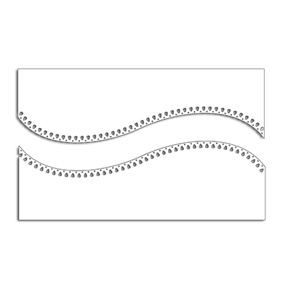 Penny Black CURVED STITCH Thin Metal Creative Dies 51-435 Preview Image