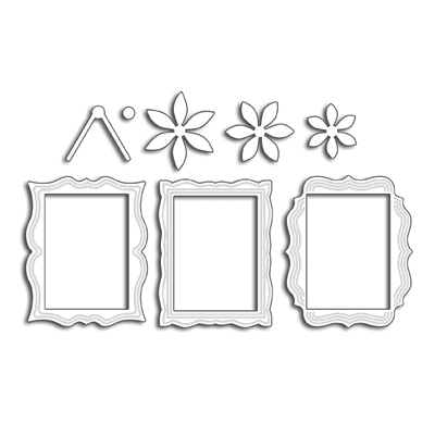 Penny Black FRAMES Thin Metal Creative Dies 51-410* Preview Image