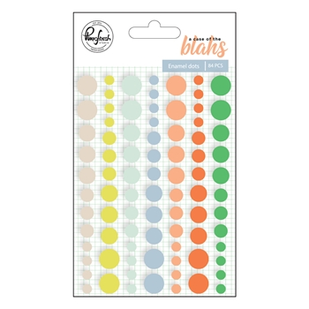 Pinkfresh Studio A CASE OF THE BLAHS Enamel Dots pfrc300818*