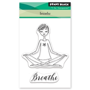 Penny Black Clear Stamps BREATHE 30 473*