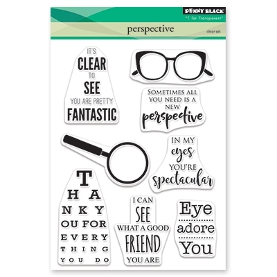 Penny Black Clear Stamps PERSPECTIVE 30-460 zoom image