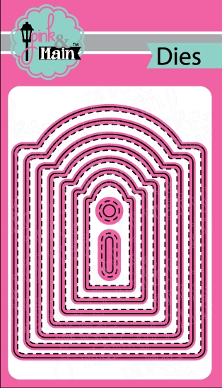 Pink and Main ARCH TAG Die Set PNM137 zoom image