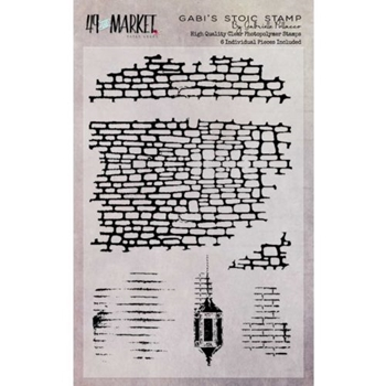 49 and Market GABI'S STOIC Clear Stamp Set GP-87513*