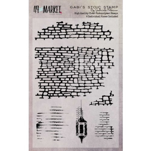 49 and Market GABI'S STOIC Clear Stamp Set GP-87513* zoom image