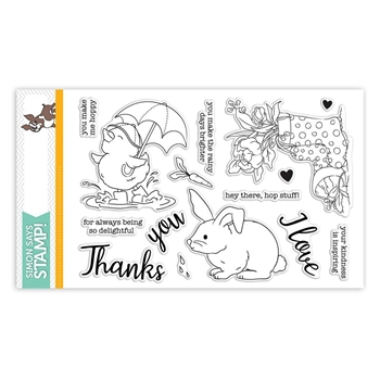 Simon Says Clear Stamps SHOWERS & FLOWERS sss101822 *