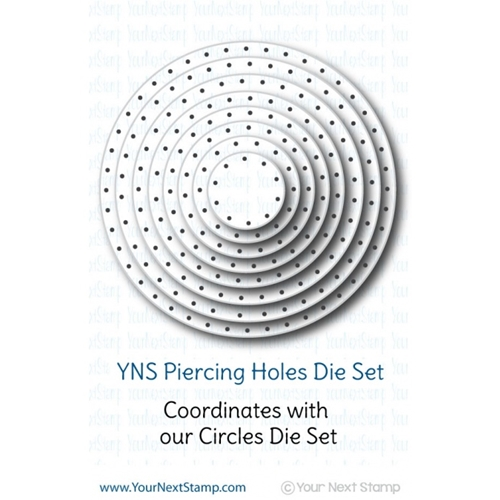 Your Next Die CIRCLES PIERCING HOLES ynsd165 Preview Image