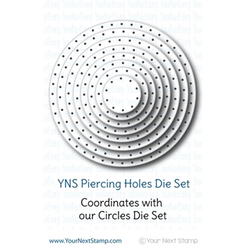 Your Next Die CIRCLES PIERCING HOLES ynsd165