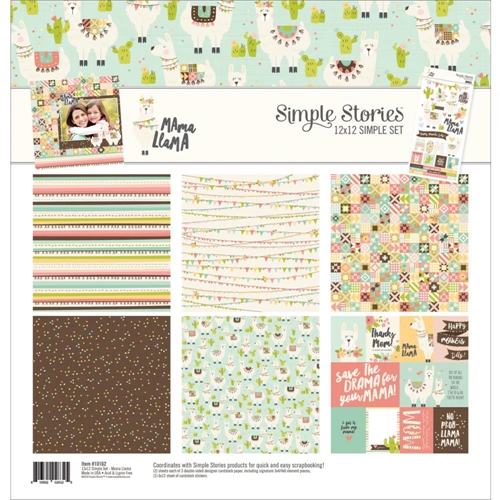 Simple Stories MAMA LLAMA 12 x 12 Collection Kit 10162 Preview Image