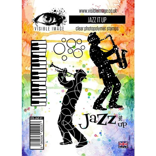 Visible Image JAZZ IT UP Clear Stamp Set VIS-JAZ-01 Preview Image